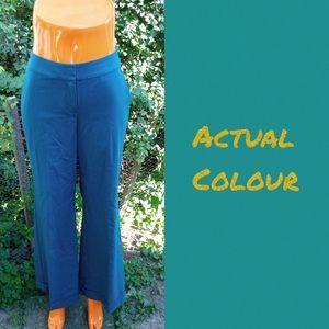 NWT St. John Couture wide leg wool pants size 4